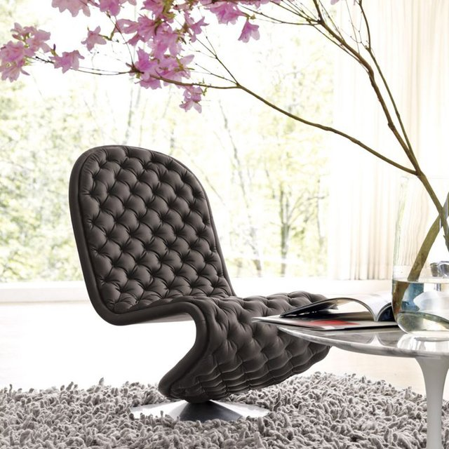 Verpan System De-Lux Low Lounge Chair