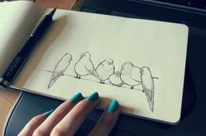 Wander Lost | Drawing