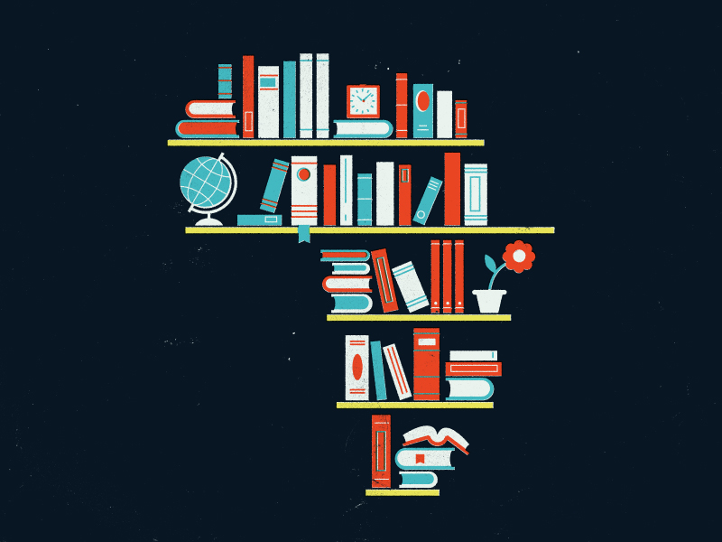 African Bookshelf