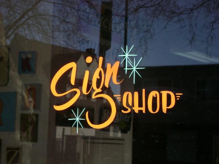 Golden West Sign Arts Front Door