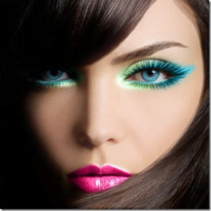 Aqua & Pink | Makeup, Hair, Etc. | Pinterest