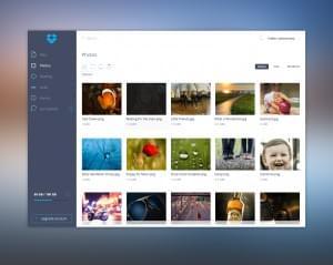 Drobbox UI Redesign concept