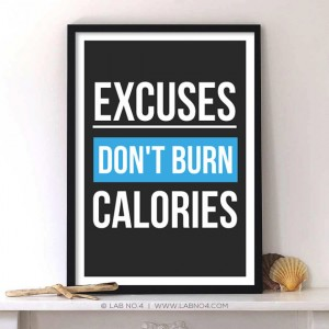 Burn calories  Gym Motivational Fitness by Lab No. 4