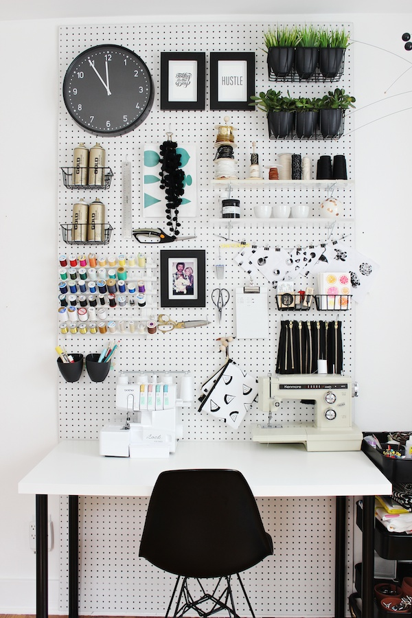 Fabric Paper Glue: Workspace Upgrades