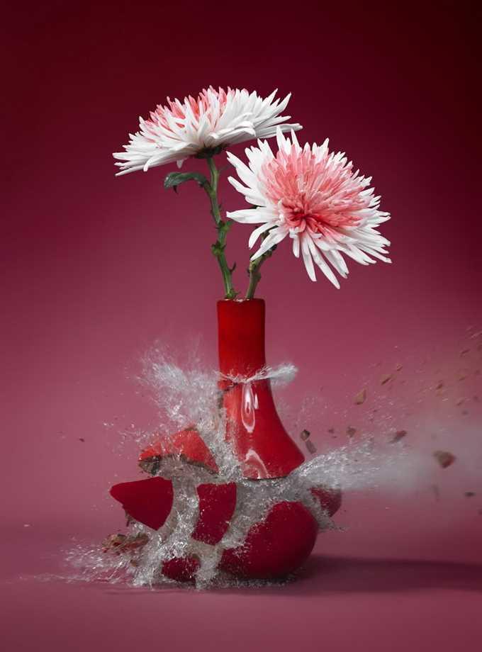 Flowervases by Martin Klimas