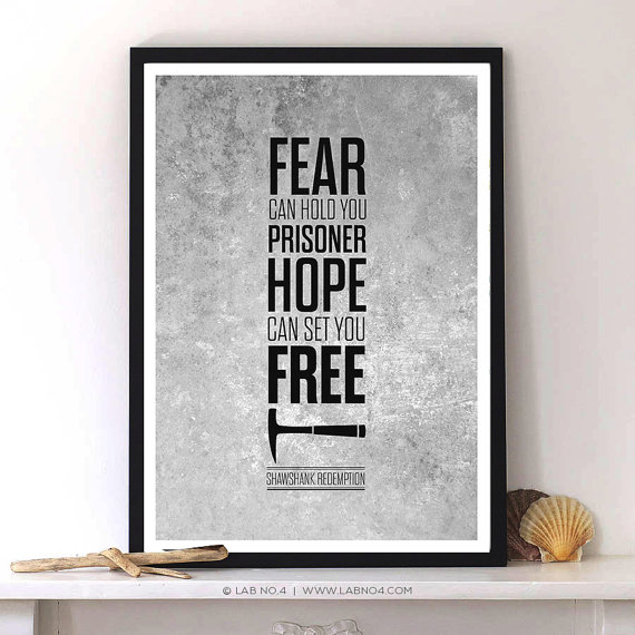 Hope Can Set You Free – A dialogue from Shawshank Redemption Movie by Lab No. 4