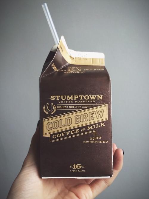 Gold Brew Coffee & Milk