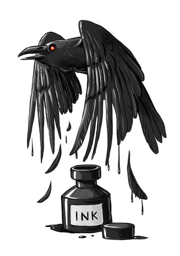 ink raven by freeminds picture