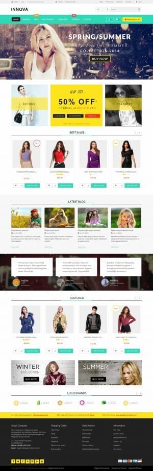 Innova – Responsive Multi Purpose Magento Theme