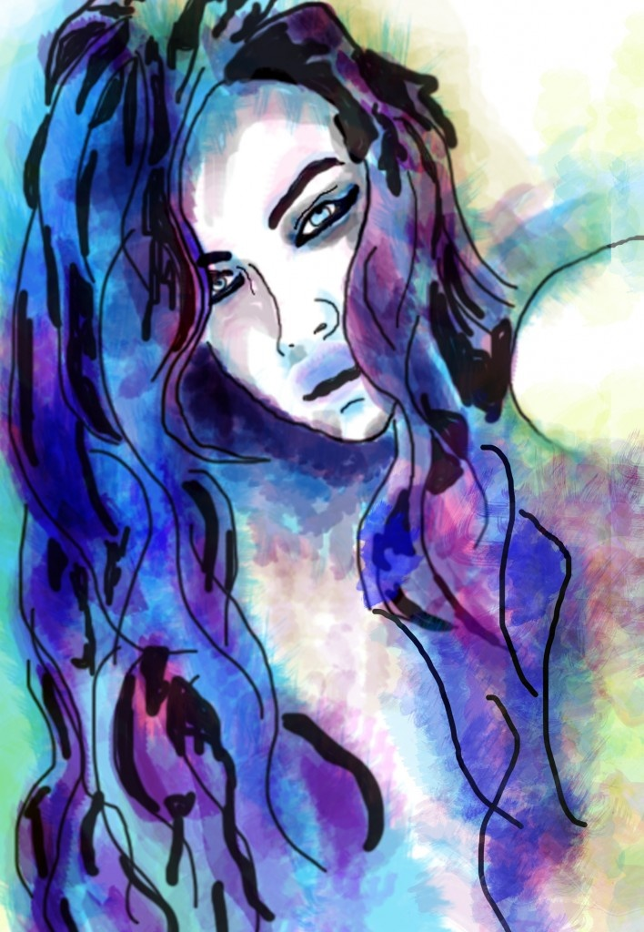 Loving this watercolor art! | DID III Inspiration | Pinterest