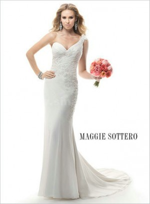 Only  – style 335.00 Maggie Sottero Norma 4MD879 wedding dresses,This lovely ball gown is  ...