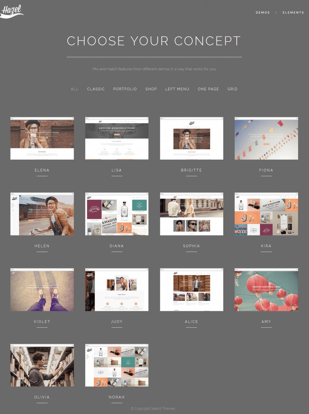 Hazel is multipurpose, clean, creative, retina ready, responsive WordPress theme ideal for creat ...