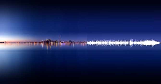 Nature Sound Form Wave by Anna Marinenko