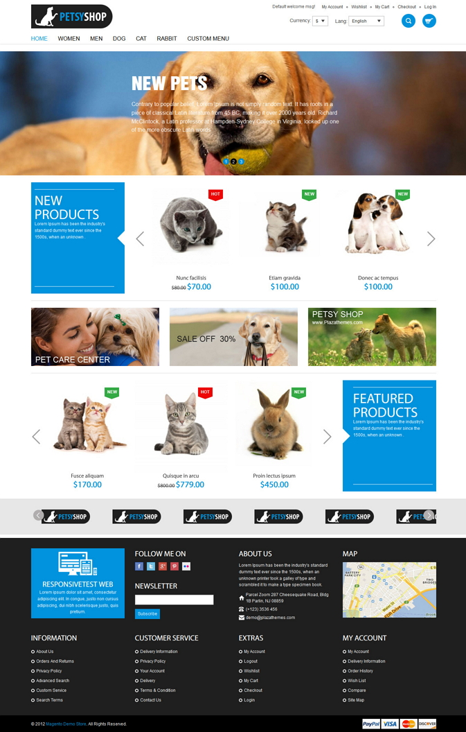 12 Best Animals and Pets Premium Themes
