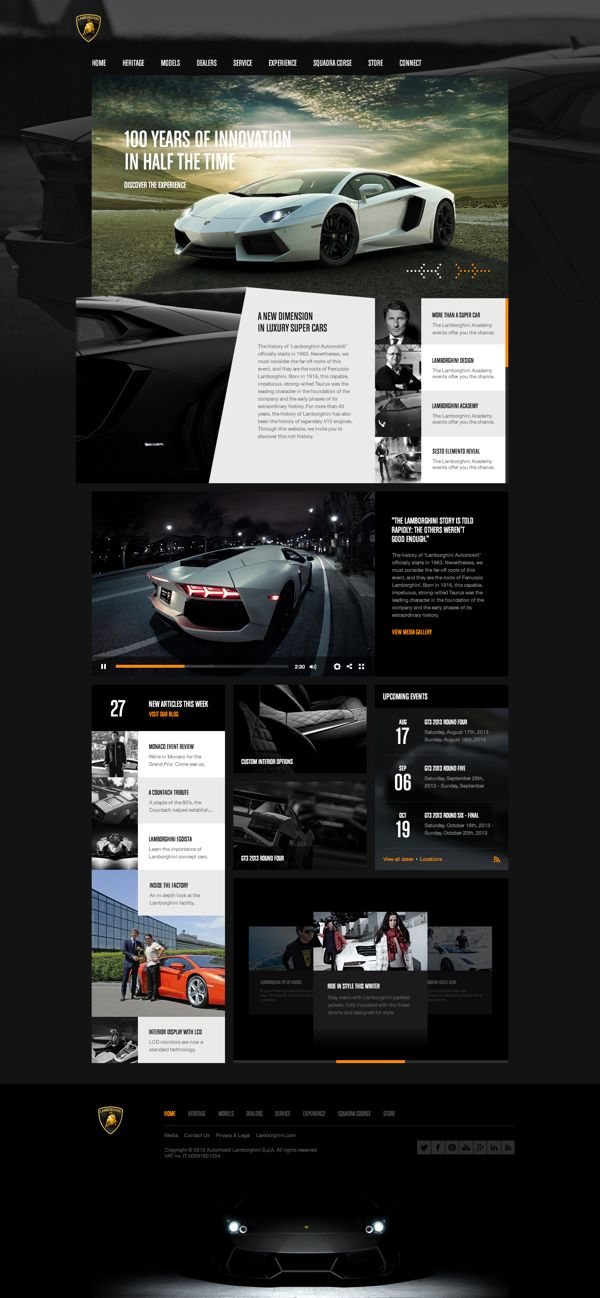Pin by Andrew Bond on WEB DESIGN | Pinterest
