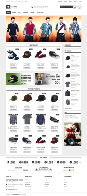 Plazathemes proudly introduce our new Prestashop Theme, specialized for food, flowers, fashion f ...