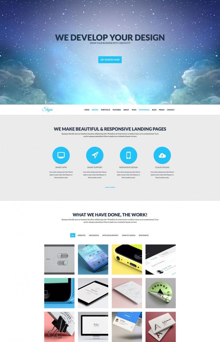 inspiration of design on web