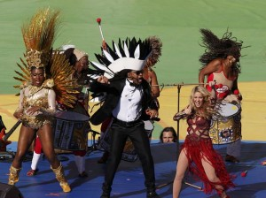 Watch: Shakira Performs World Cup 2014 Closing Ceremony