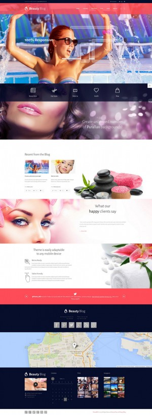 BeautyBlog is a super flexible, really multifunctional and fully responsive professional WordPre ...