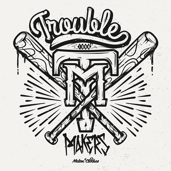 Trouble Makers on Typography Served