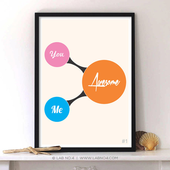 You + Me = AWESOME, by Lab No. 4