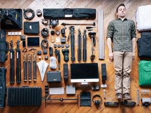 A Man & His Tools by Colin Garven