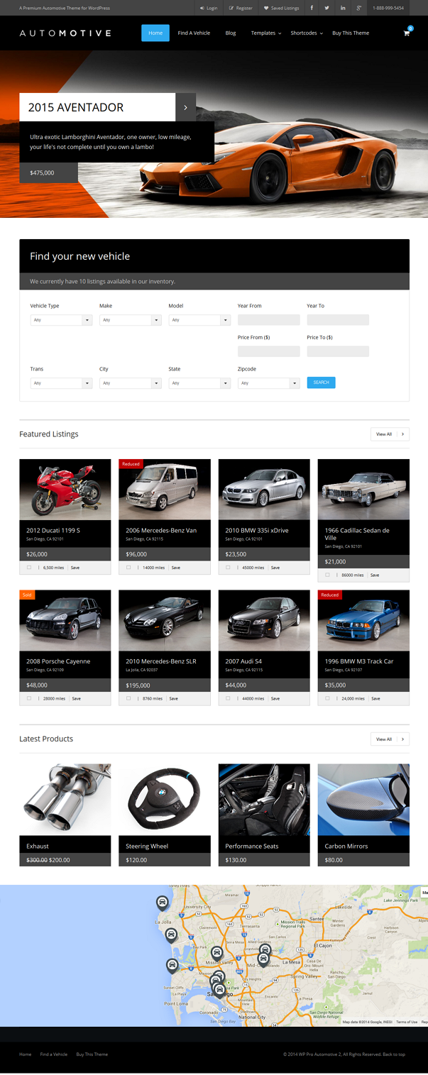 WP Pro Automotive 2 is one of the most powerful automotive WordPress themes purpose built to sho ...