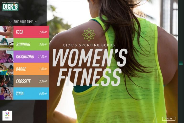 Dick's Sporting Goods: Women's Fitness