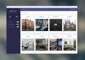 Real Estate Agent Dashboard