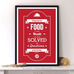So long as You have food in your mouth you have solved all questions for time being by Franz Kaf ...