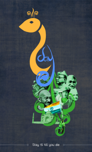 India Independence design