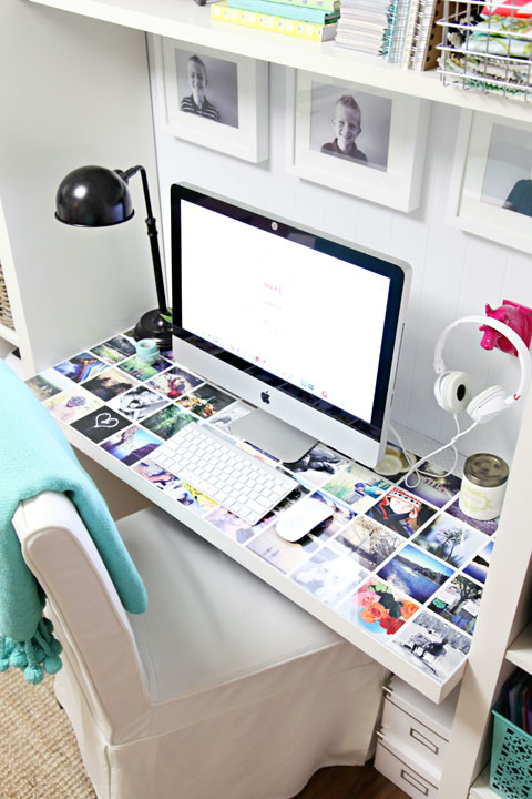 IHeart Organizing:  A Little Desk Refresh