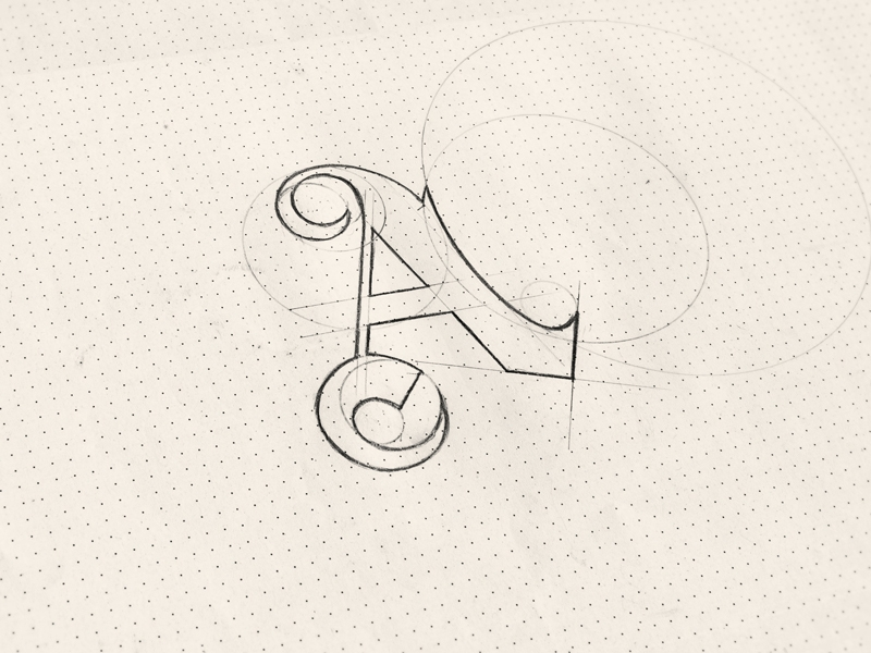 Sketch Logo An A