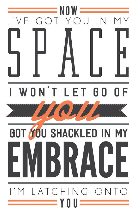 Latch by Disclosure // Poster // Lyrics // Wall Decor // 11×17