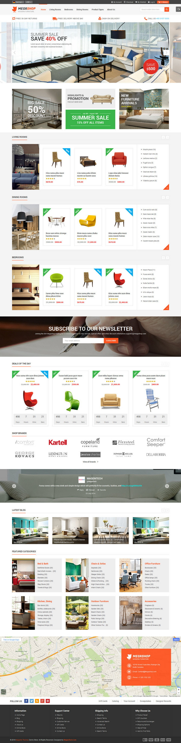 Megashop is a multipurpose responsive mageto theme that has everything you need for stores with  ...