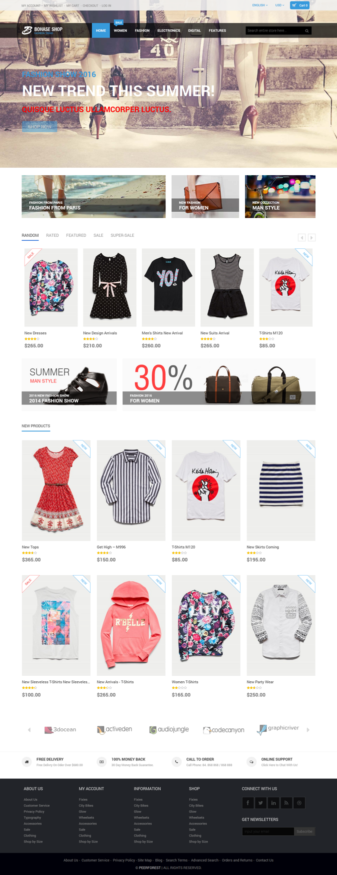 Bohase Shop is a premium Magento theme with advanced admin module. It's extremely customiz ...
