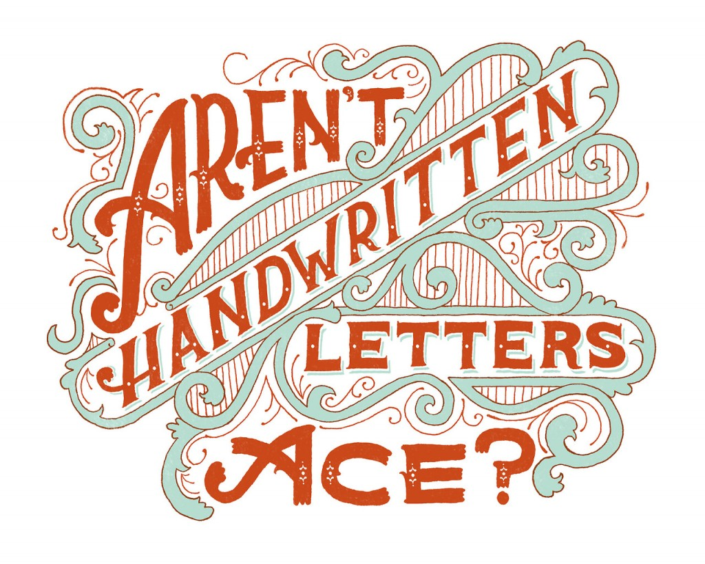 It's National Handwriting Day, why not break out the ol' pen and paper and write letter?