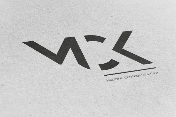 Logo for MCK by Karolina Pamuła