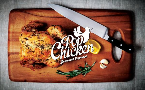 PopChicken Gourmet Express  // Identity