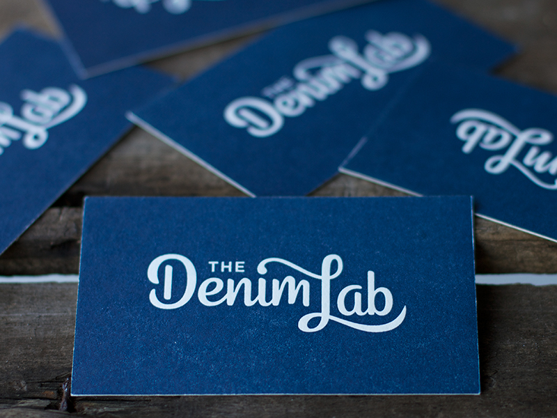 The Denim Lab Business Cards
