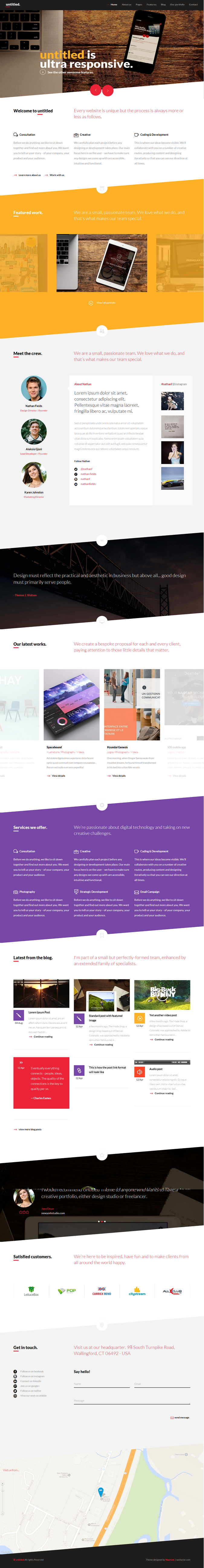 Untitled is an most powerful multipurpose WordPress theme. It has powerful front end PageBuilder ...