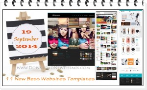11 New Best Websites themes of 19th Sept 2014