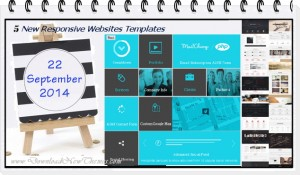 5 New Responsive Websites themes of 22nd Sept 2014