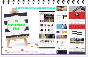7 New Responsive Websites themes of 24th Sept 2014