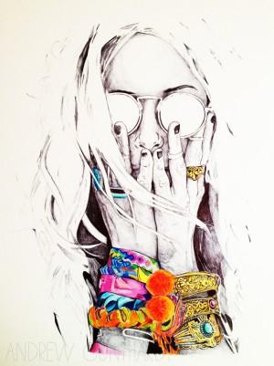 alisa burke: andy's art