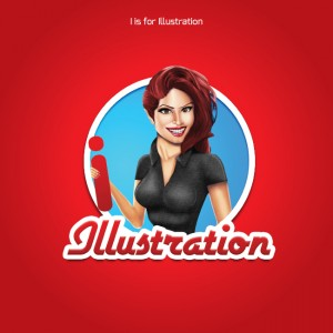 Taken from the A-Z of Logo Design – I is for Illustration