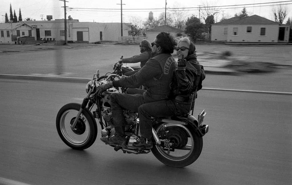 Bikers by Bill Ray