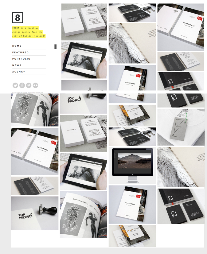 EIGHT is a simple, minimal and delightful portfolio dedicated for photographers as well as all c ...