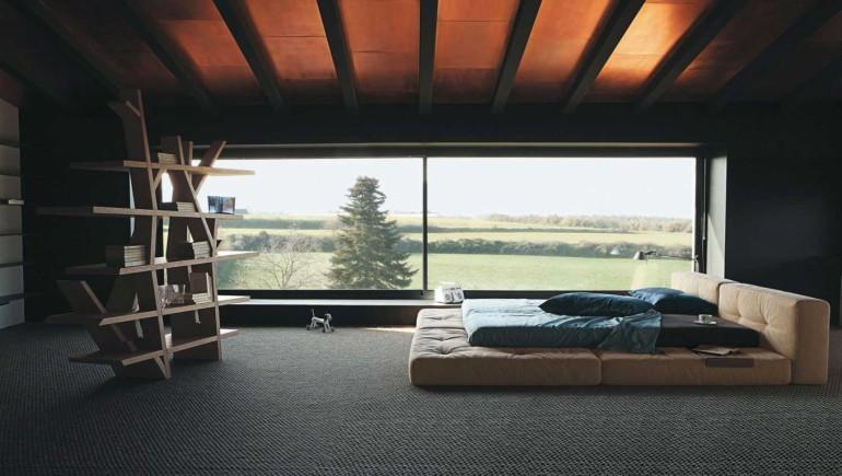 Breathtaking Upholstered Platform Bed