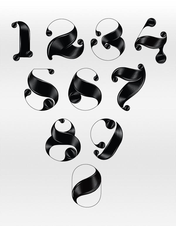 The Very Black Typography